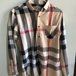 Burberry shirt. Brand new. Never worn.